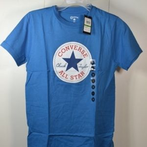 NWT Converse Blue T-Shirt Size Large